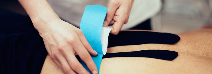 Chiropractic Bloomington IN Kinesiology Tape