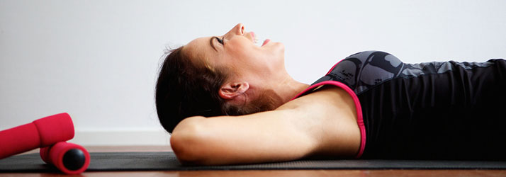 Chiropractic Bloomington IN Woman Working Out