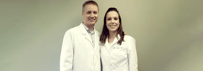 Chiropractor Bloomington IN Andrew Pitcher and Crystal Gray