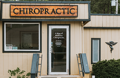 Chiropractic Bloomington IN Clinic Entrance